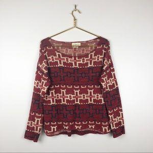 Ralph Lauren Denim & Supply Tribal Print Sweater